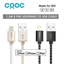 USB Lightning 8 Pin Sync Data Charger Cable Cord for Apple iPhone iPad iPod