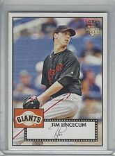 TIM LINCECUM 2007 Topps '52 ROOKIE CARD RC SP Giants #130