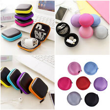 Fashion Storage Bag Case For Earphone Headphone Earbuds Key Coin Hard Hold Pouch