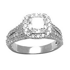 Sterling Silver Princess Cubic Zirconia Ring -1.81 ct tw