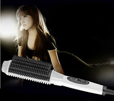 US/EU Plug Auto Electric Comb Brush Straightening Irons Display  Straight Hair