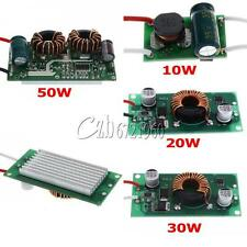 10w 20w 30w 50w Constant Current LED Driver DC12V to DC30-38V Blubs Beads Light