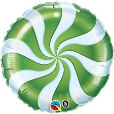 "18"" Peppermint Green Mylar Foil Balloon"