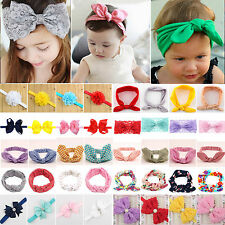 Kids Girl Baby Lace Bow Flower Headband Toddler Hair Band Accessories Headwear