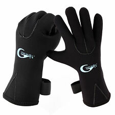 Windproof Skidproof 3mm Neoprene Gloves Fishing Diving Surfing Wetsuit Gloves