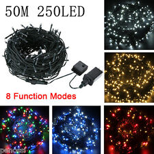 50M 250 LED String Fairy Wire Lights Xmas Party Garden Decor Christmas Outdoor