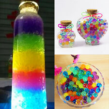 1300XColorful Water Plant Flower Jelly Crystal Soil Mud Hydro Gel Pearls Beads