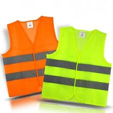 Unisex Safety Security Light Reflective Vest Construction / Traffic / Warehouse