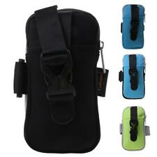 """Womens Men Running Jogging Gym Pouch Armband Wrist Bag 5.8"""" Phone Case Arm Band"""