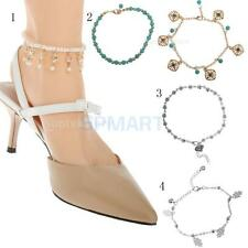 Fashion Barefoot Hand Ankle Chain Anklet Bracelet Foot Jewelry Sandal Beach