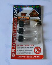 NOMA R3 12V Outdoor Screw-in Spare Bulbs