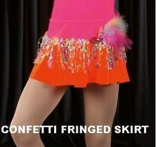 Confetti Dance Costume Fringed Tap Skirt Only Jazz Tap Hip Hop CXS,CXL,AM,AL
