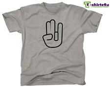 The SHOCKER Hand Funny Sex Rude Sexy Offensive College Party T-Shirt NEW Grey