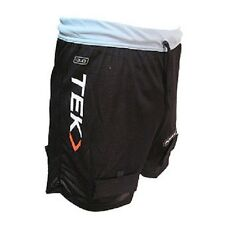 New PowerTek Ladies Mesh Loose Fit Ice Hockey Jill Short Pelvic Prot & Sock Tabs