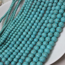 Wholesale Lots 100/500Pcs Round Loose Turquoise Charm Spacer Beads Jewelry 4mm