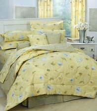 Karin Maki Laura Yellow Daisy Floral Bedding Comforter Set or Bed in Bag-5 Sizes