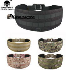 Emerson LBT1647B Molle Tactical Military Padded Waist Battle Belt Hunting