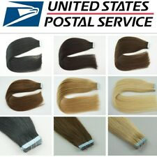 """16""""-24"""" 6A Indian Tape in 100% Real Remy Human Hair Extensions Straight 20Pcs"""