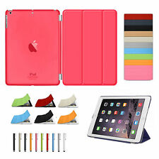 Smart Magnetic Leather Stand Case Cover for Apple iPad 2 3 4 Air1 Air2 Mini& 9.7