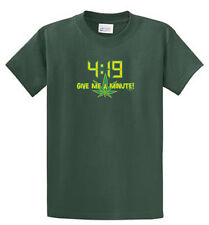 4:19 Stoner Printed Humorous T Shirts Reg and Big and Tall Size Port and Company