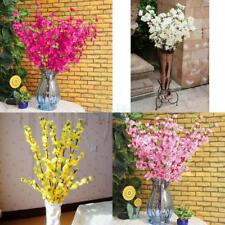 "10x Artificial 26"" Cherry Plum Spring Peach Blossom Bloom Silk Flower Home Decor"