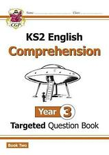 New KS2 English Targeted Question Book: Year 3 Comprehension by Cgp Books