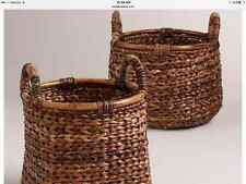 RATTAN BASKETS, Rustic, Handmade, Round, Square