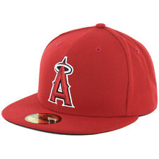 New Era 59Fifty Los Angeles Angels of Anaheim Game Fitted Cap MLB AC OnField Hat