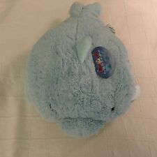 "NWT Pillow Pets Squeaky Dolphin Large 18"" Inch Plush Stuffed Animal"