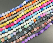 wholesale lots frosted agate beads round matte beads gemstone beads 8mm 10mm