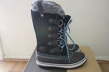 SOREL Womens Joan of Arctic Knit Winter Boots NEW Size 10 Black