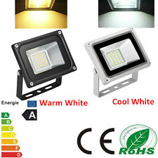 20W LED Floodlights IP65 Waterproof Warm & Cool White Outdoor Garden Lamps DC12V