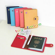 Travel Wallet Organiser Pouch Passport Holder Cover ID Card Case Bag