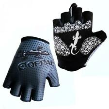 Fingerless Sports Cycling Bicycle Gloves Half Finger Gel Palm Silicone New