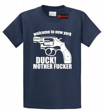 Welcome To NY Duck Mother F&%*er T Shirt Music Celebrity RiRi Tee