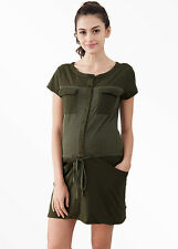 Mamaway Splice Button Up Maternity & Nursing Dress