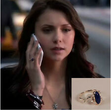 Classic The Vampire Diaries Elena's Daylight Sun Protection Ring Lapis Lazuli