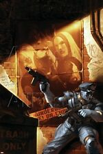 Marvel Thunderbolts: Desperate Measures No.1 Cover: Americop Fighting Poster
