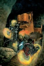 Marvel Ghost Riders: Heavens On Fire No.3 Cover: Ghost Rider Poster