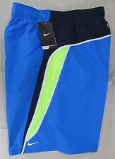 NIKE Men's Advanced Volley Swim Suit Board Shorts Trunks Blue Large, XXL NEW NWT