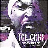 War & Peace, Vol. 2: The Peace Disc [PA] by Ice Cube (CD, Mar-2000, Priority NEW