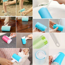 Lint Roller Washable Dust Pet Hair Fluff Remover Roller Sticky Reusable Cleaner
