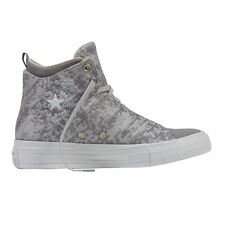 Converse Chuck Taylor Selene Winter Knit Mid Grey Womens Trainers
