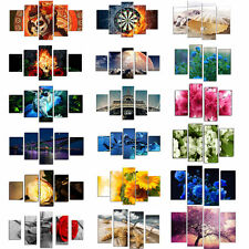 5 Pcs Modern Home Wall Decor Art Oil Painting Picture Printed On Canvas No Frame