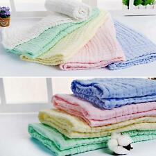 106x105cm Soft 100% Cotton Baby Bath Towel Washcloths Hand Face Feeding Wipe Mat