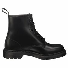 Dr.Martens 1460 8 Eyelet Mono Smooth Black Mens Womens Unisex Boots