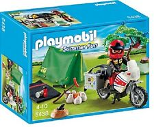 Playmobil 5438 Biker at Camp Site mint in Box camping RV motorcycle geobra toy