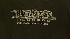 RUTHLESS RECORDS / EAZY- E Tribute Shirt XL - Saga Continues - NWA rap hip hop