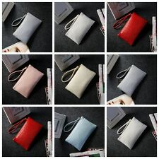 Women Lady PU Leather Wallet Zipper Clutch Purse Long Handbag Envelope Style Bag