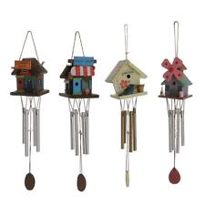 Metal Tubes Wall Hanging Wind Chime Windchime Bell Yard Garden Decor Xmas Gift